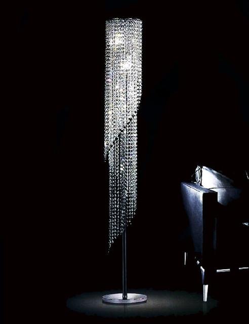chrome floor lamps photo - 3