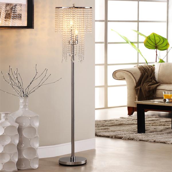 chrome floor lamps photo - 7