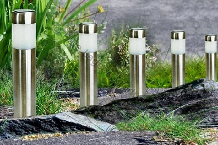 chrome outdoor lighting photo - 8