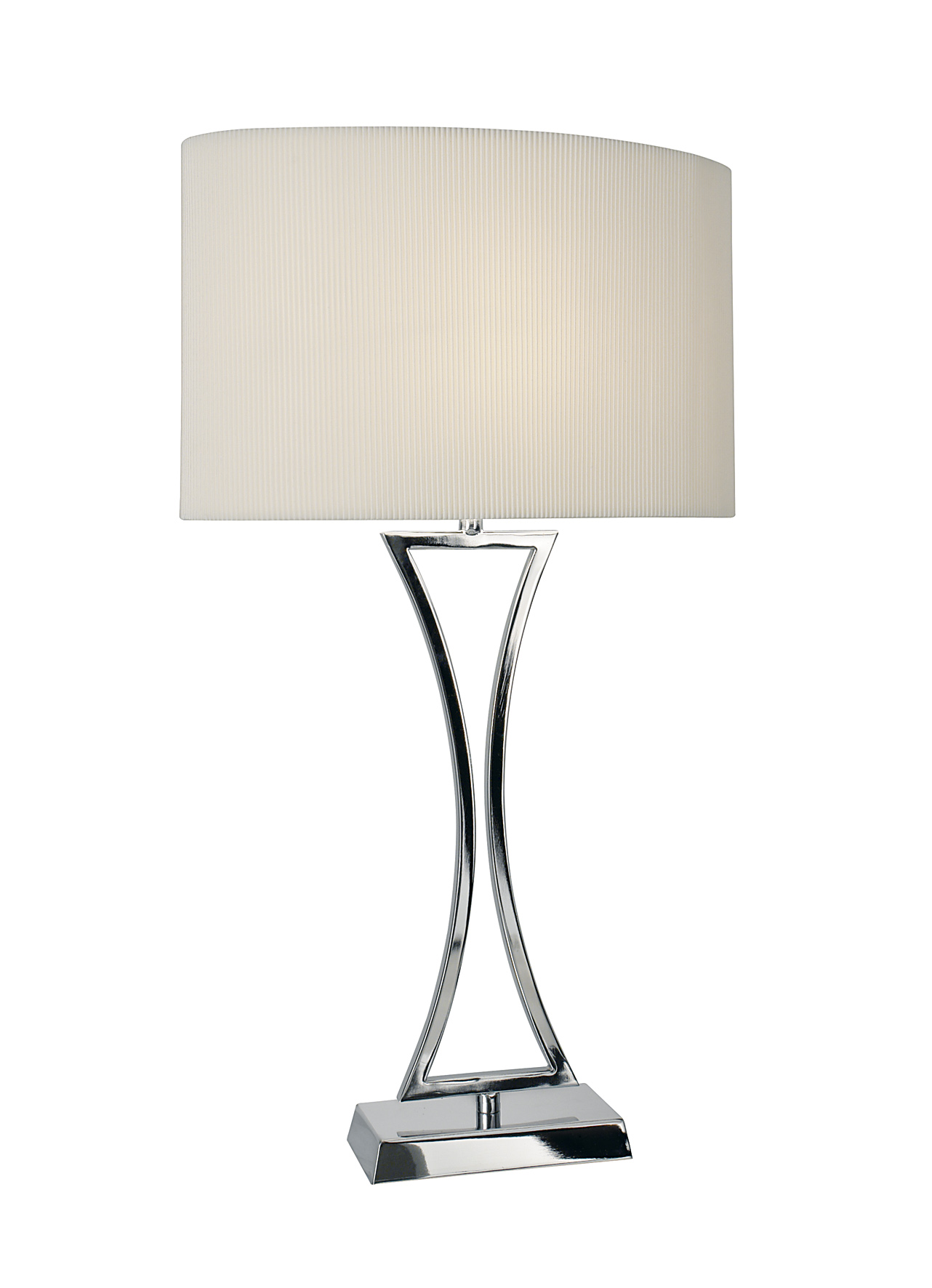 chrome table lamps photo - 1