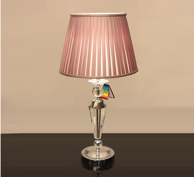 chrome table lamps photo - 10