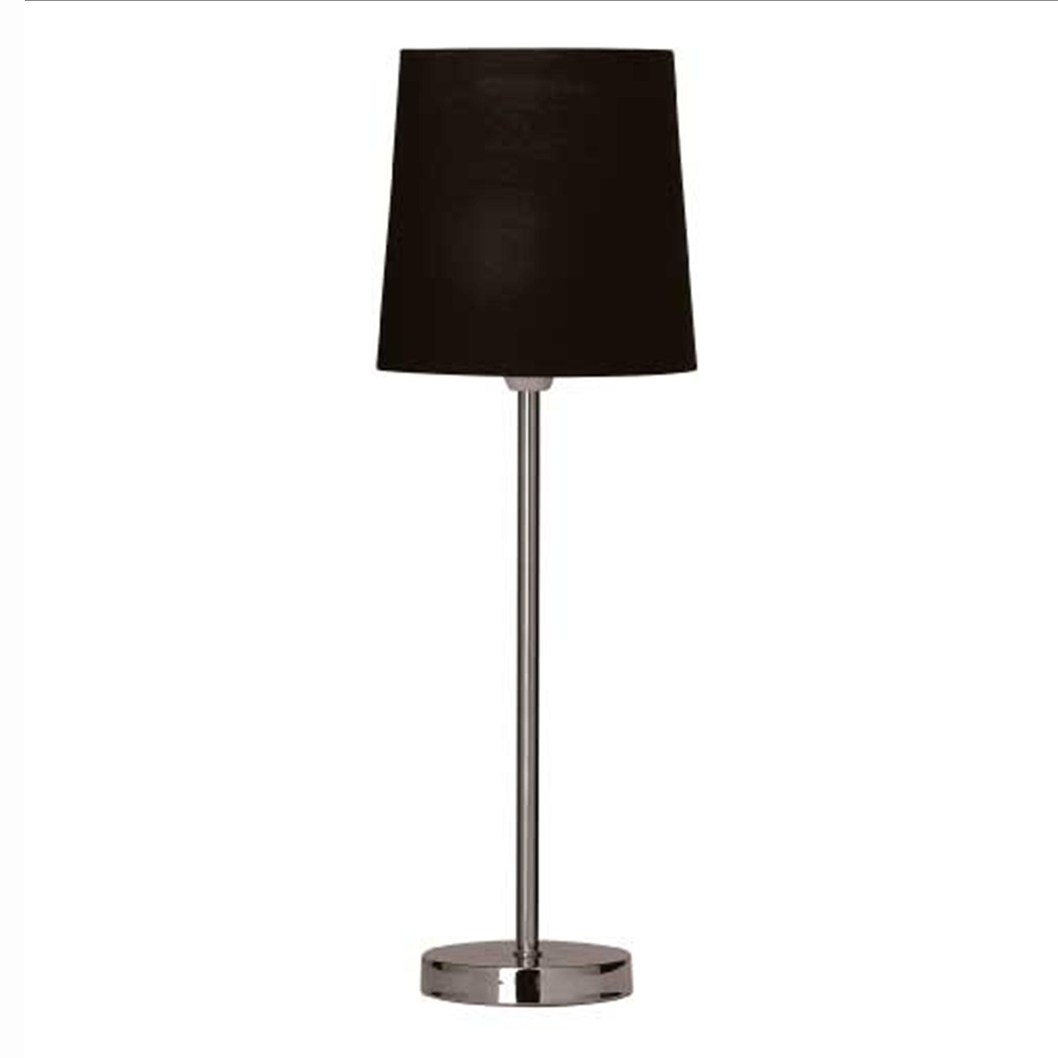 chrome table lamps photo - 5
