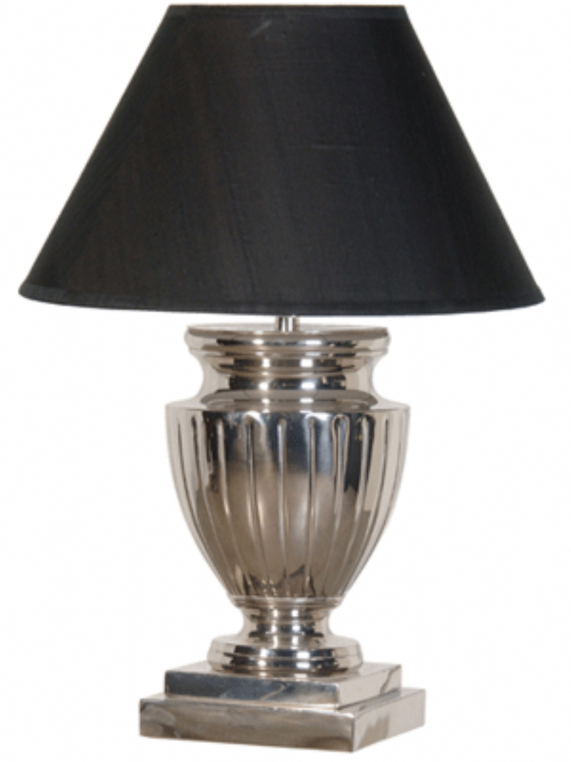 chrome table lamps photo - 6