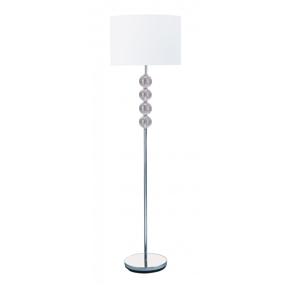 chrome table lamps photo - 9
