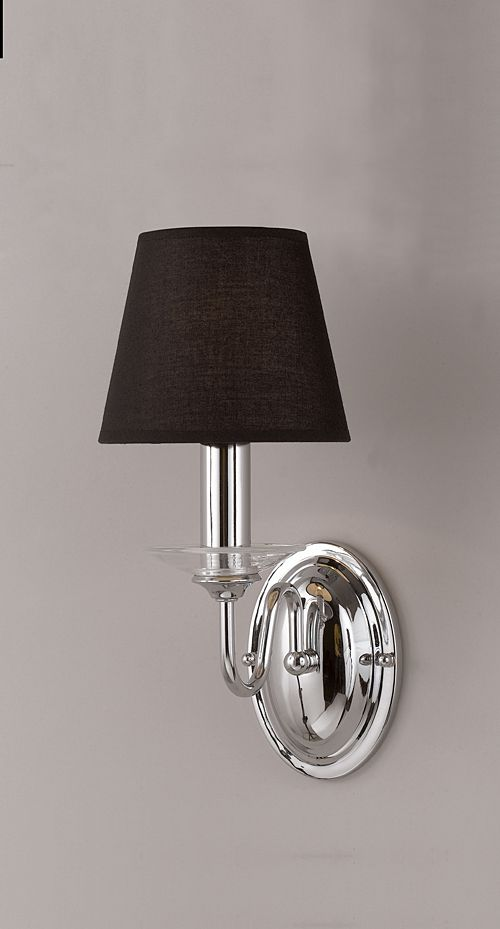 chrome wall lights photo - 1