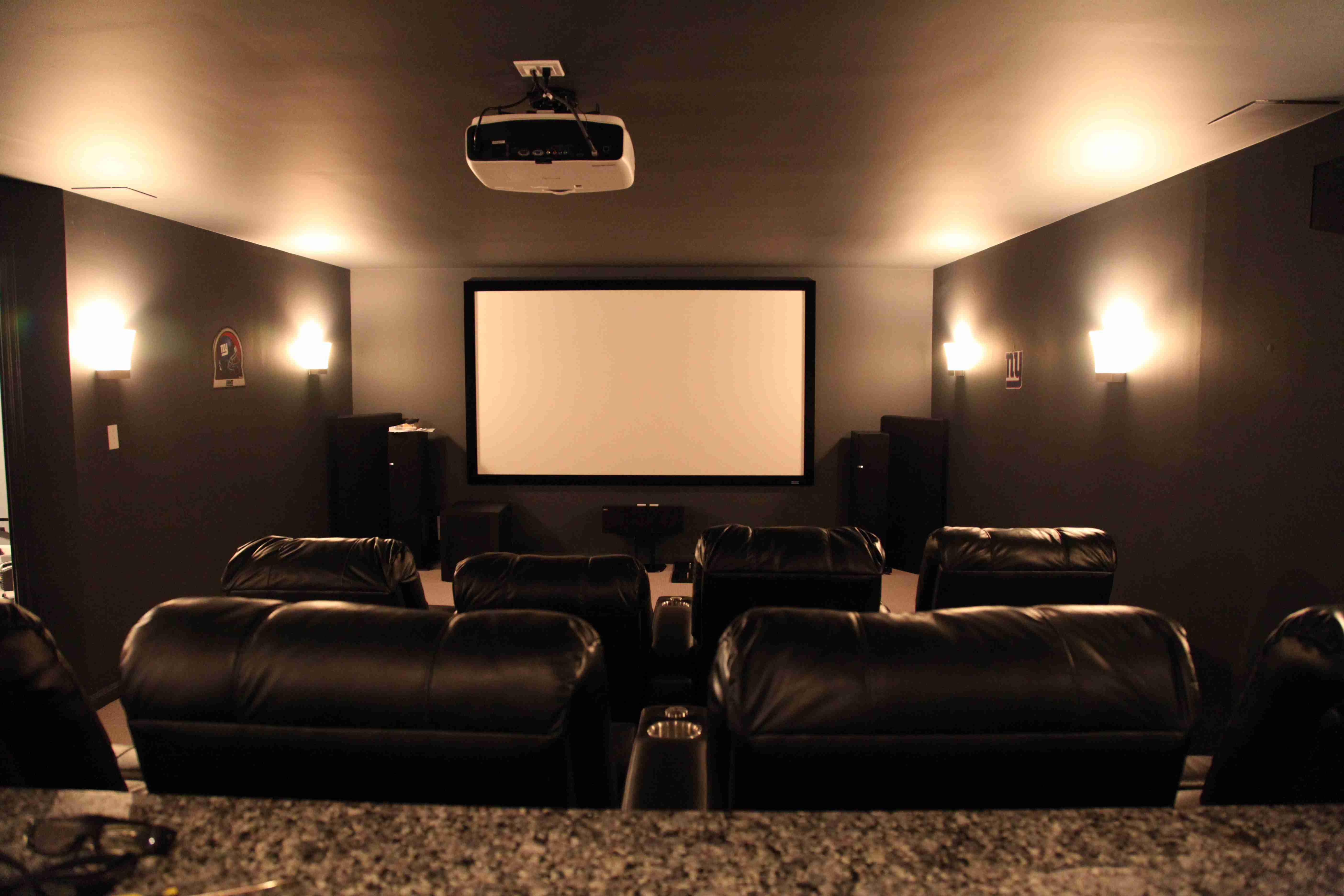 cinema wall lights photo - 10