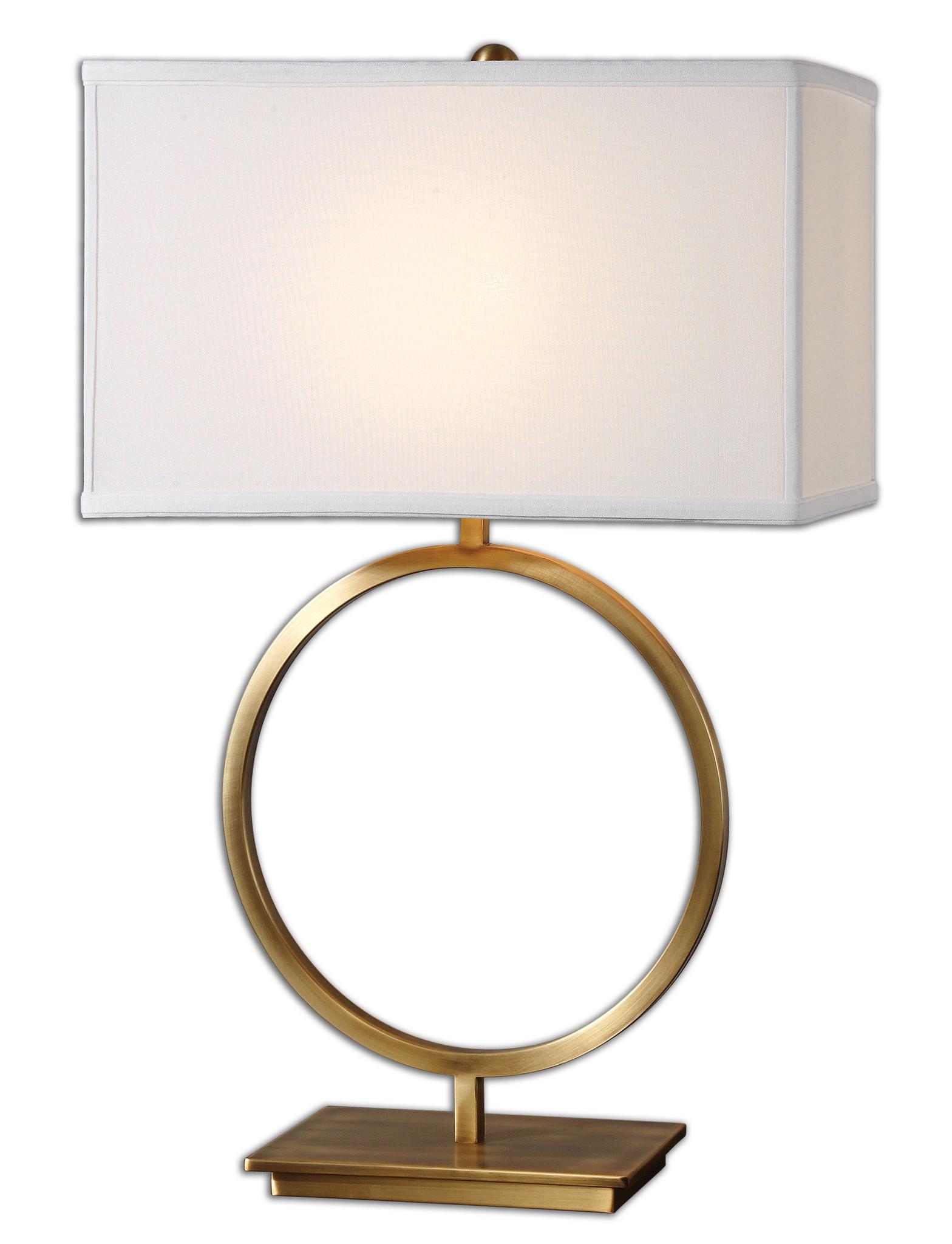 circle lamp photo - 7