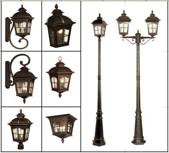 classic outdoor lighting photo - 1