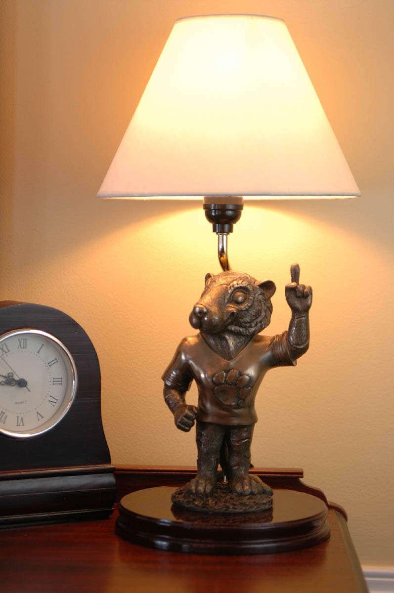 clemson lamp photo - 7
