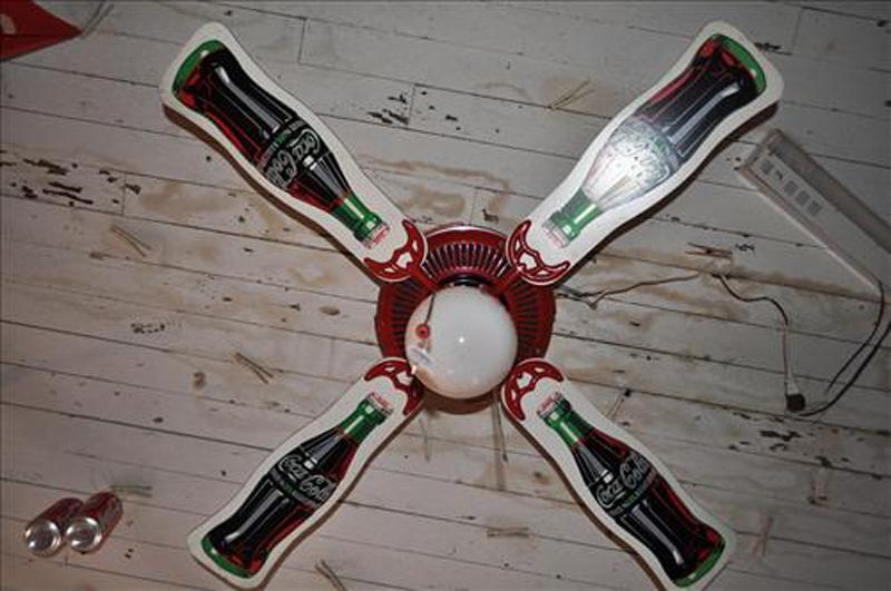 coca cola ceiling fans photo - 3