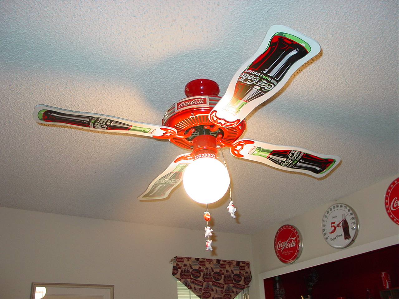 Coca cola ceiling fans tips for buyers warisan lighting coca cola ceiling fans photo 6 aloadofball Gallery
