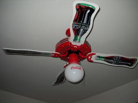 coca cola ceiling fans photo - 7