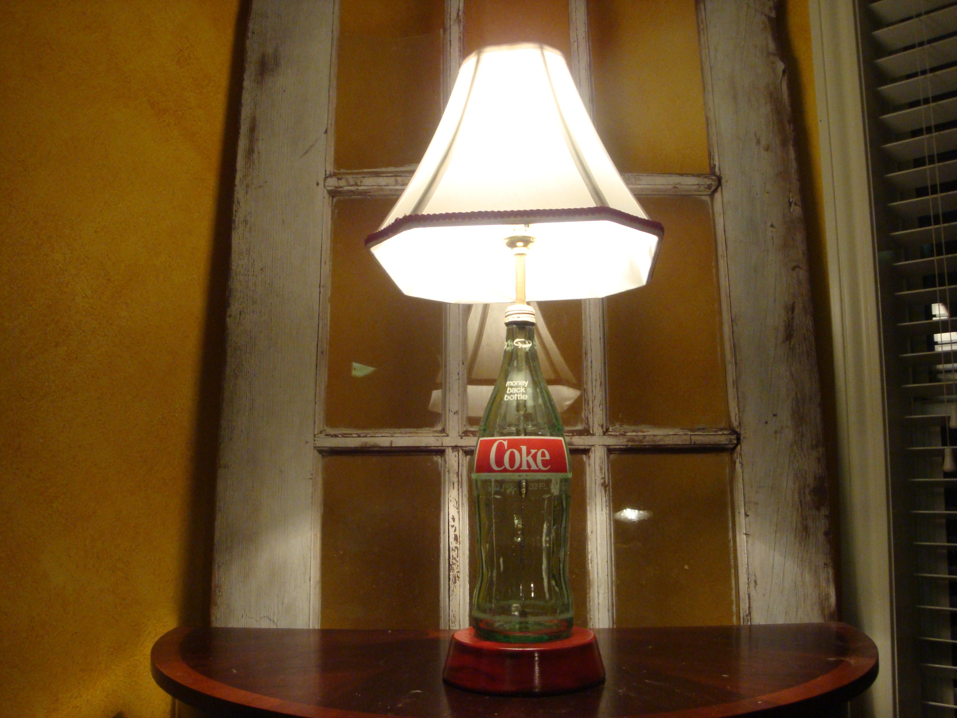 coke lamp photo - 1
