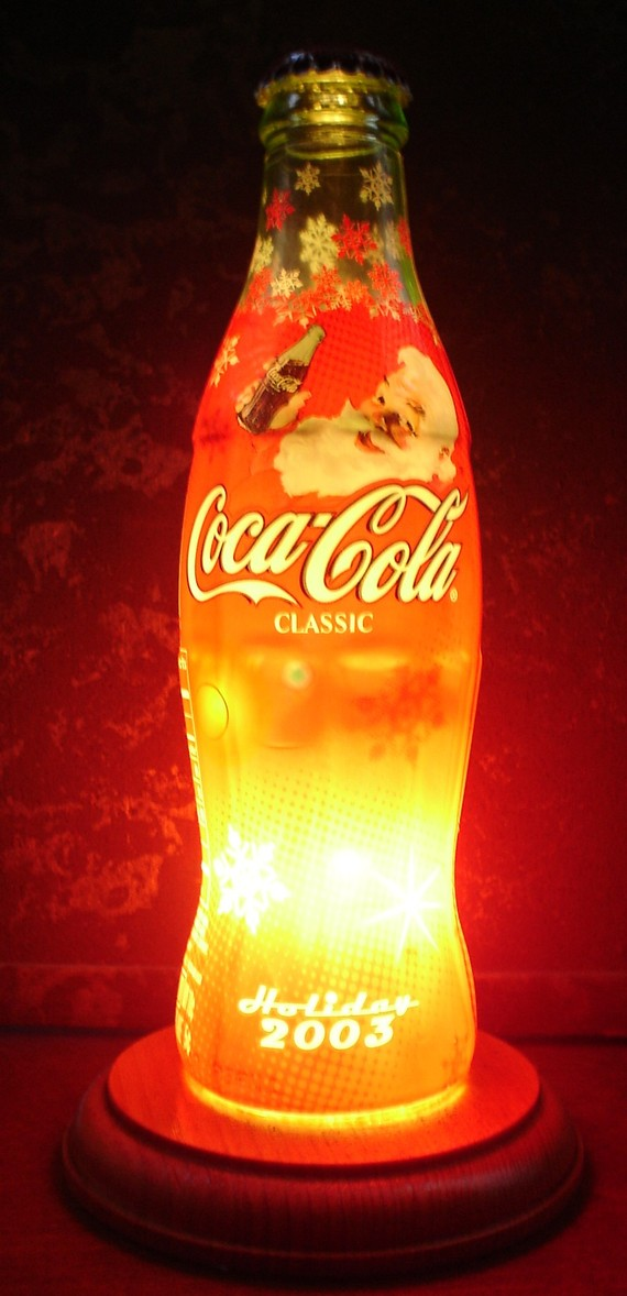 Coke lamp Will Add Taste To Your Decor Due To Their Uniqueness and ...