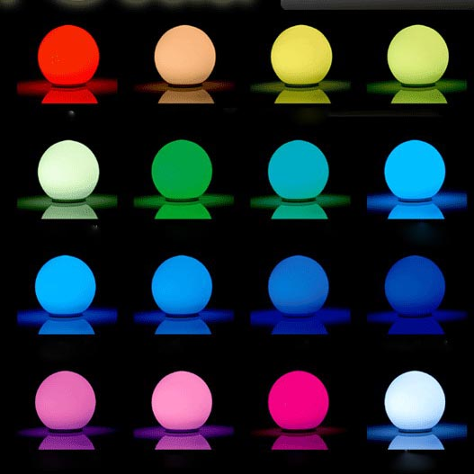 color changing led lamp photo - 8