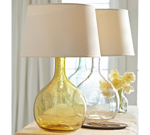 colored glass table lamps photo - 6
