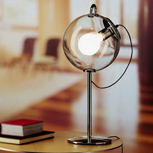 colored glass table lamps photo - 8