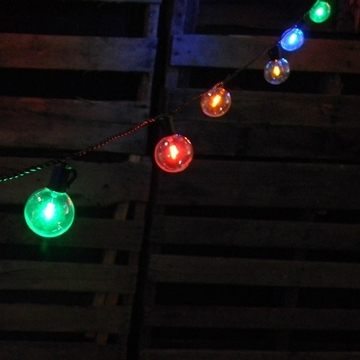 colored outdoor lights photo - 4