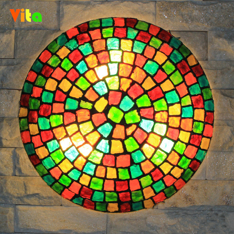 colorful ceiling lights photo - 9
