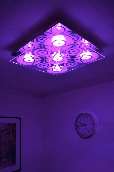 colour changing ceiling lights photo - 10