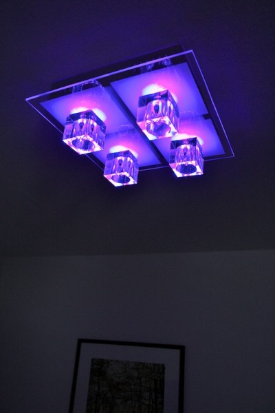 colour changing ceiling lights photo - 7