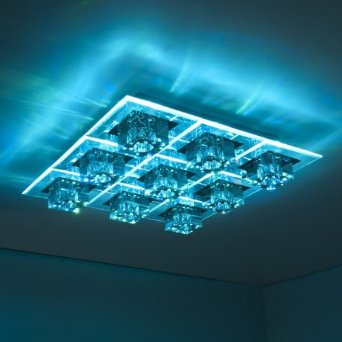 colour changing ceiling lights photo - 9