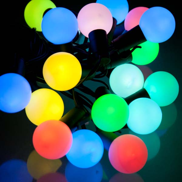 colour changing outdoor lights photo - 2