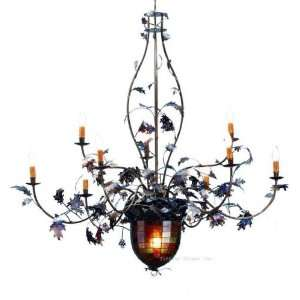 coloured glass ceiling lights photo - 4