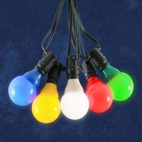 coloured outdoor lights photo - 1