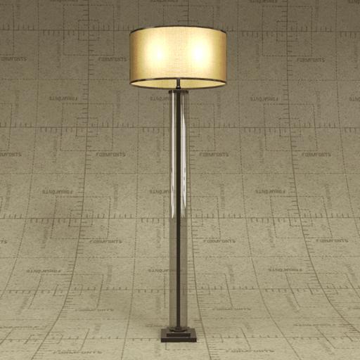 column floor lamp photo - 3