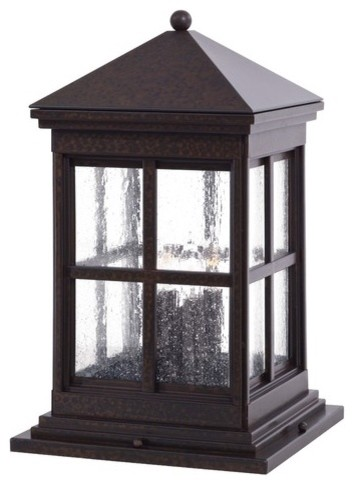 column mount outdoor lights photo - 4