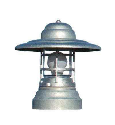 column mount outdoor lights photo - 6