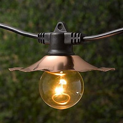 Commercial Outdoor Patio String Lights Photo   5
