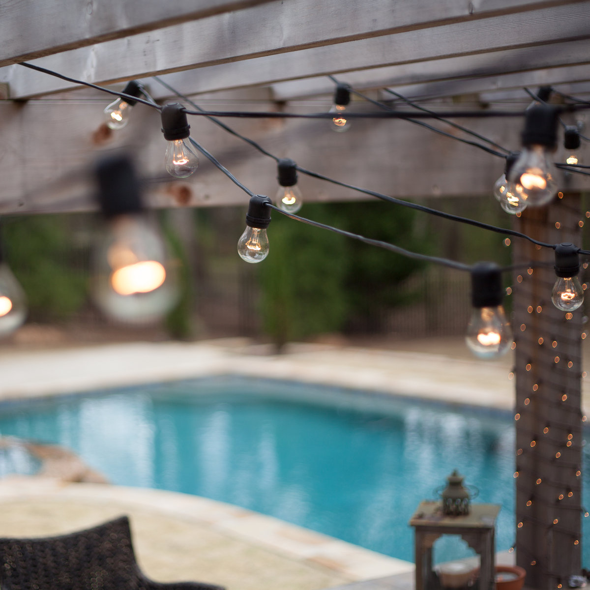 Outdoor Lights On Patio: 10 Commercial Outdoor Patio String Lights Ideas To Light