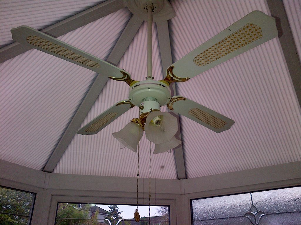 conservatory ceiling fans photo - 4