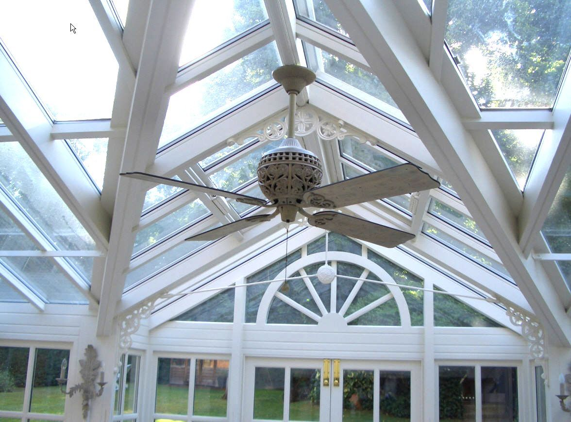 conservatory ceiling fans photo - 9