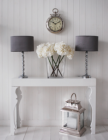 console table lamps photo - 2