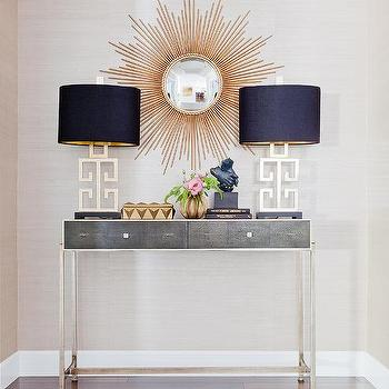 Console Table With Lamps: console table lamps photo - 4,Lighting