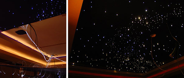 constellation lights ceiling photo - 7