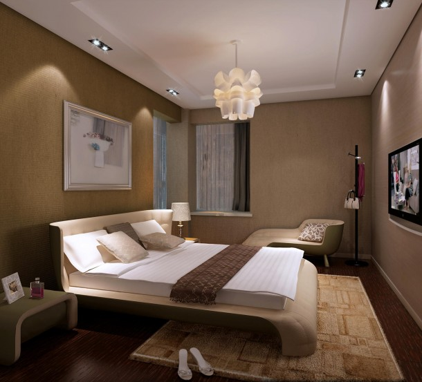 contemporary bedroom ceiling lights photo - 6