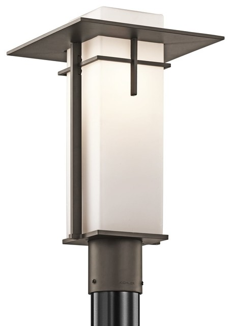 contemporary outdoor post lighting photo - 2