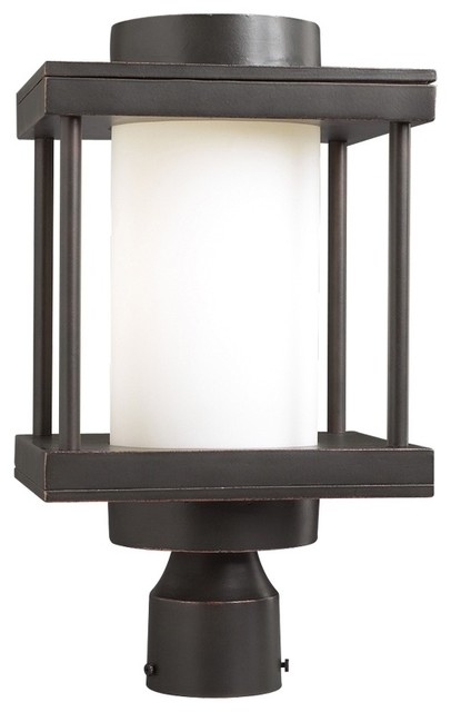 contemporary outdoor post lighting photo - 5