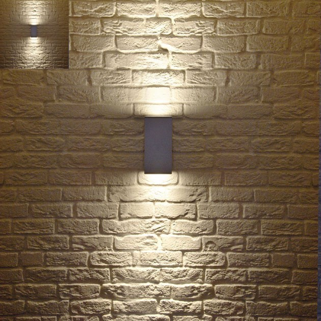 contemporary outdoor wall lights photo - 4