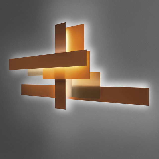Contemporary wall light fixtures bring the unique for Cool modern light fixtures