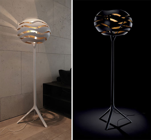 Great Cool Floor Lamps Photo   10