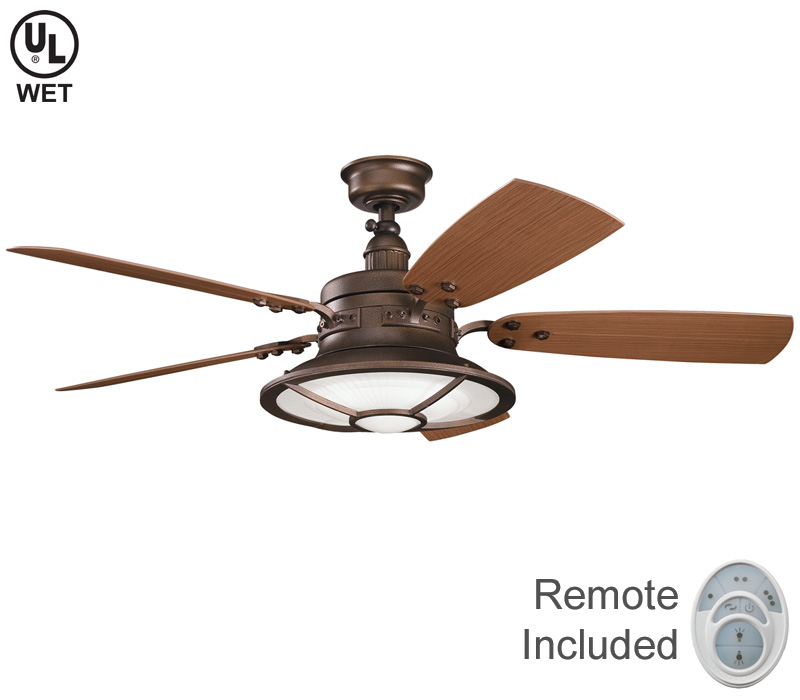 copper ceiling fan photo - 10