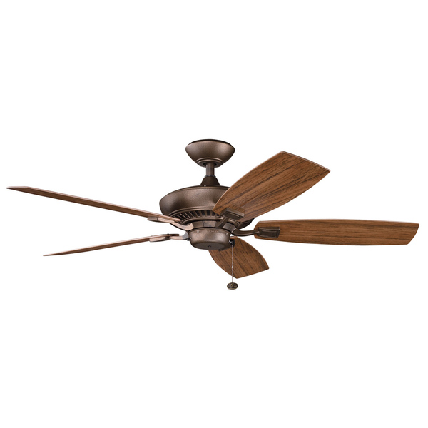 copper ceiling fan photo - 2