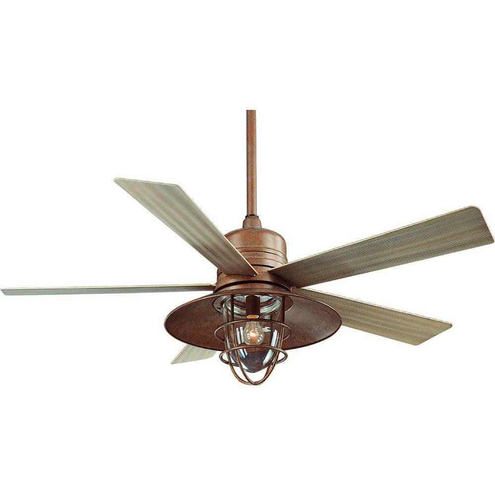 copper ceiling fan photo - 3