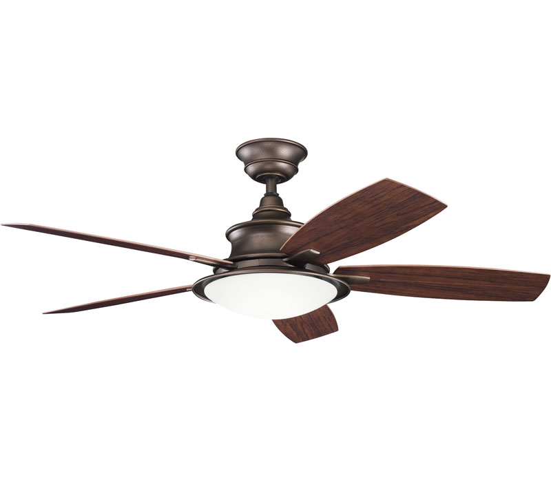 copper ceiling fan photo - 4