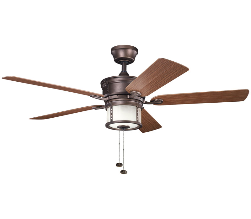 copper ceiling fan photo - 5